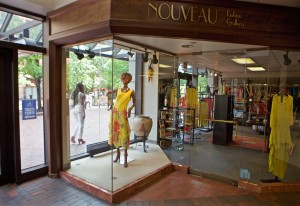 The Nouveau Fashion Gallery, located in Boston's Copley Plaza, is shown July 9, 2015. (Photo by Joel Jean-Pierre) MANDATORY CREDIT EDITORIAL USE ONLY